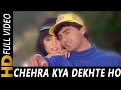 Chehra Kya Dekhte Ho | Kumar Sanu, Asha Bhosle | Salaami 1994 Songs | Ayub Khan - YouTube