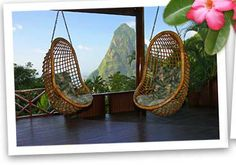 40th birthday getaway? Pitons Mountains St. Lucia