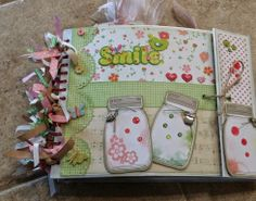 Mini Album Cookbook: Spring Mini Album ~ Project Life & AC Neapolitan ~ Brother ScanNCut ~ Cricut Explore