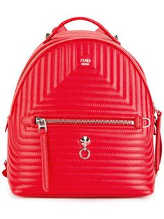 ab092077f Las 11 mejores imágenes de Fendi | Backpacks, Fendi backpack y Fendi ...