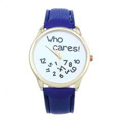 La montre tendance 2015. Superbe montre, unique en son genre. Mouvement à trois aiguilles.  Un jolie montre qui sublimera vos poignets en un clin d'oeil!!!  La montre parfaite pour offrir!  Emballage cadeau offert!