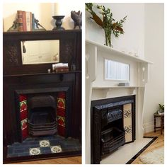 Period Fireplace Before After Shot Period, Interior Design, Fashion Design, Home Decor, Style, Nest Design, Swag, Home Interior Design, Stylus