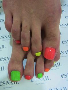 Love the bright colors. Nice for summer when you start tanning.