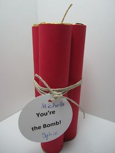 You're the bomb treat -- good for a student reward at work
