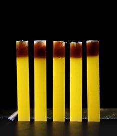 Sniffs de fruta de la pasión y café. elBulli 2001 Ferran Adria
