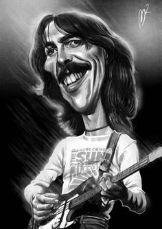 """George Harrison, MBE, was an English musician, multi-instrumentalist, singer and songwriter who achieved international fame as the lead guitarist of the Beatles. Although John Lennon and Paul McCartney were the band's primary songwriters, most of their albums included at least one Harrison composition, including """"While My Guitar Gently Weeps"""", """"Here Comes the Sun"""" and """"Something"""", which became the Beatles' second-most-covered song.  Lived: Feb 25, 1943 - Nov 29, 2001 (age 58)."""