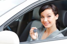 Women smiling because she looked for discounted car insurance quotes for women and found the perfect rate thanks to http://location.nvvam.org