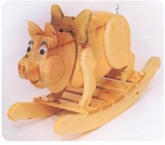 Pork Chop Rocker Plans