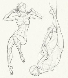 Anatomy Challenge, Part 06 - All Together by AzizlaSwiftwind.deviantart.com on @DeviantArt