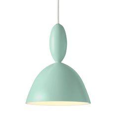 Light green Mhy pendant lamp by Muuto. Design by Norway Says. Pendant Lamp, Pendant Lighting, Ceiling Lamp, Ceiling Lights, Neon Licht, I Love Lamp, Kids Room Design, Interior Lighting, Light Up
