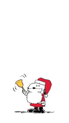 Christmas iPhone Snoopy Character Wallpaper - Brenda Home