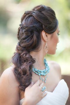 Braids, Woven braids, Wedding Hair