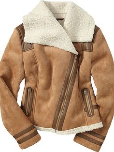 Old Navy faux shearling, $45 at oldnavy.com