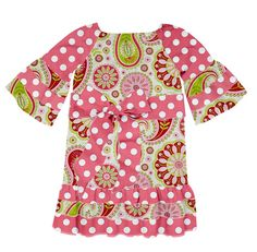 Check out the dress Lauren Moss's Jr. Designer created on Designed By Me from Lolly Wolly Doodle!