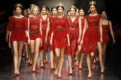 Dolce & Gabbana | Summer 2015 Womens Fashion Show | Royal Luxus