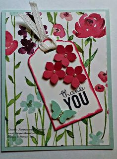Painted Blooms Designer Series Paper from Stampin' Up!