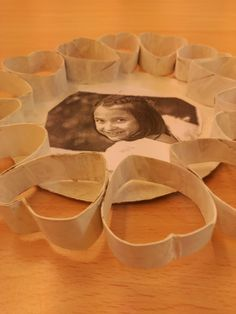 Formes amb rull de paper de water. Alumna Òmnia