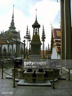 Stock Photo : Wat Phra Kaeo temple thailand
