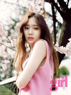 Krystal for 'Vogue Girl Korea' May Issue 2015
