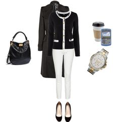 Preppy Office Outfit