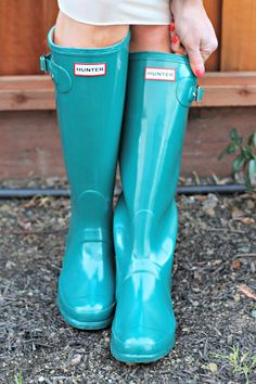 I need a pair of Hunter wellies!