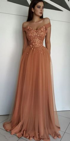 Champagne tull, lace applique sexy luxury ball gown special occasion party dress · prom dress · Online Store Powered by Storenvy