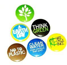 Fridge magnets - Recycle 1 - set of