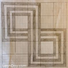 Infinity Knot Free Quilt Pattern | LeahDay.com
