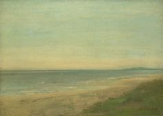 After Gustave Courbet: The Sea near Palavas