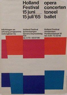 poster by Joost van de Woestijne (1965)