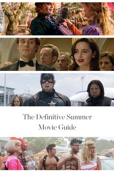 The Definitive 2016 Summer Movie Guide