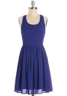 Set the Night on Sapphire Dress