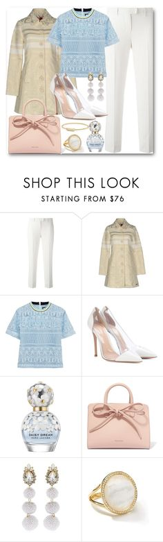 """""""Pastels"""" by stylish-sparkles ❤ liked on Polyvore featuring 'S MaxMara, Desigual, House of Holland, Gianvito Rossi, Marc Jacobs, Mansur Gavriel, Shourouk, Ippolita and David Yurman"""