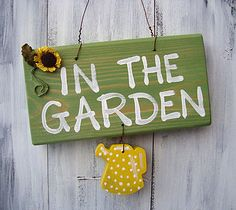 #garden #woodensign #madeinbritain