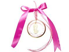Πανέμορφο κρεμαστό γούρι-φυλαχτό για κορίτσι.  Ιδανικό δώρο για νεογέννητο & βάπτιση. Personalized Items