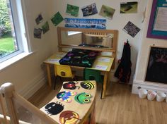 Butterflies Classroom 'Bug' Lab Role play area