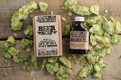 Beer Soap Beard Kit. Brown Ale Soap  Hops by CraftsmanSoapCo, $25.00