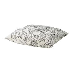STOCKHOLM Cushion IKEA The duck feather filling feels fluffy and gives your body excellent support.