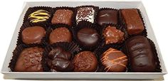 Boxed Chocolate Assortment | Gourmet Gift Boxed Chocolate Assortment 8 oz