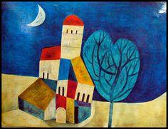 YOSHIRO TACHIBANA Art Painting, Japanese Art, Illustrations And Posters, Naive Art, Painting, Art, Art Movement, Abstract, Huichol Art