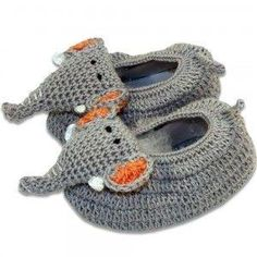 crochet baby booties by nslady49