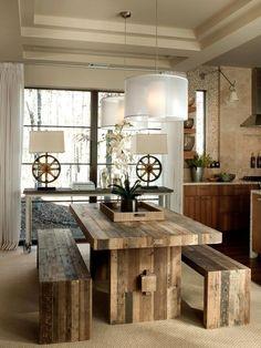 A decoração rústica pode ficar pesada demais em alguns casos, por isso é importante ter muita atenção com a combinação dos elementos.