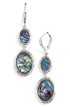 Judith Jack Abalone Doublet Drop Earrings available at #Nordstrom