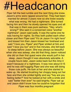 I love Percabeth but I also love Jasper, and I've been really into making Jasper headcanons lately -- Lani