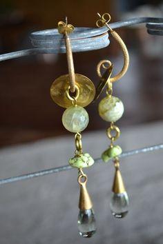 earrings paillettesdesign