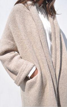 LET ME LIVE IN THIS: Lauren Manoogian Capote Coat