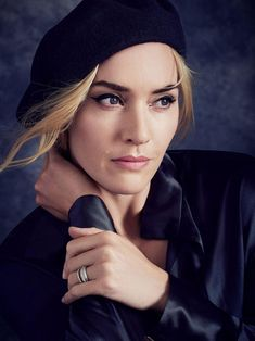 Kate Winslet photographed by Alexi Lubomirski for Lancôme, 2016.