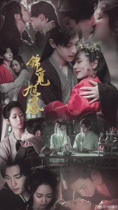 [Mainland Chinese Drama Heavy Sweetness Ash-like Frost 香蜜沉沉烬如霜 China, Eternal Love Drama, Ashes Love, Chines Drama, Chinese Mythology, Chinese Movies, Love Scenes, Tv Couples, Peach Blossoms