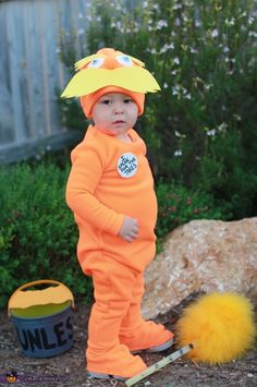 The Lorax - Halloween Costume Contest via @costumeworks
