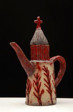 Pottery Teapots, Ceramic Teapots, Ceramic Clay, Ceramic Pottery, Pottery Art, Teapots And Cups, Tea Art, Chocolate Pots, Artisanal